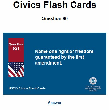 Simple First Amendment question